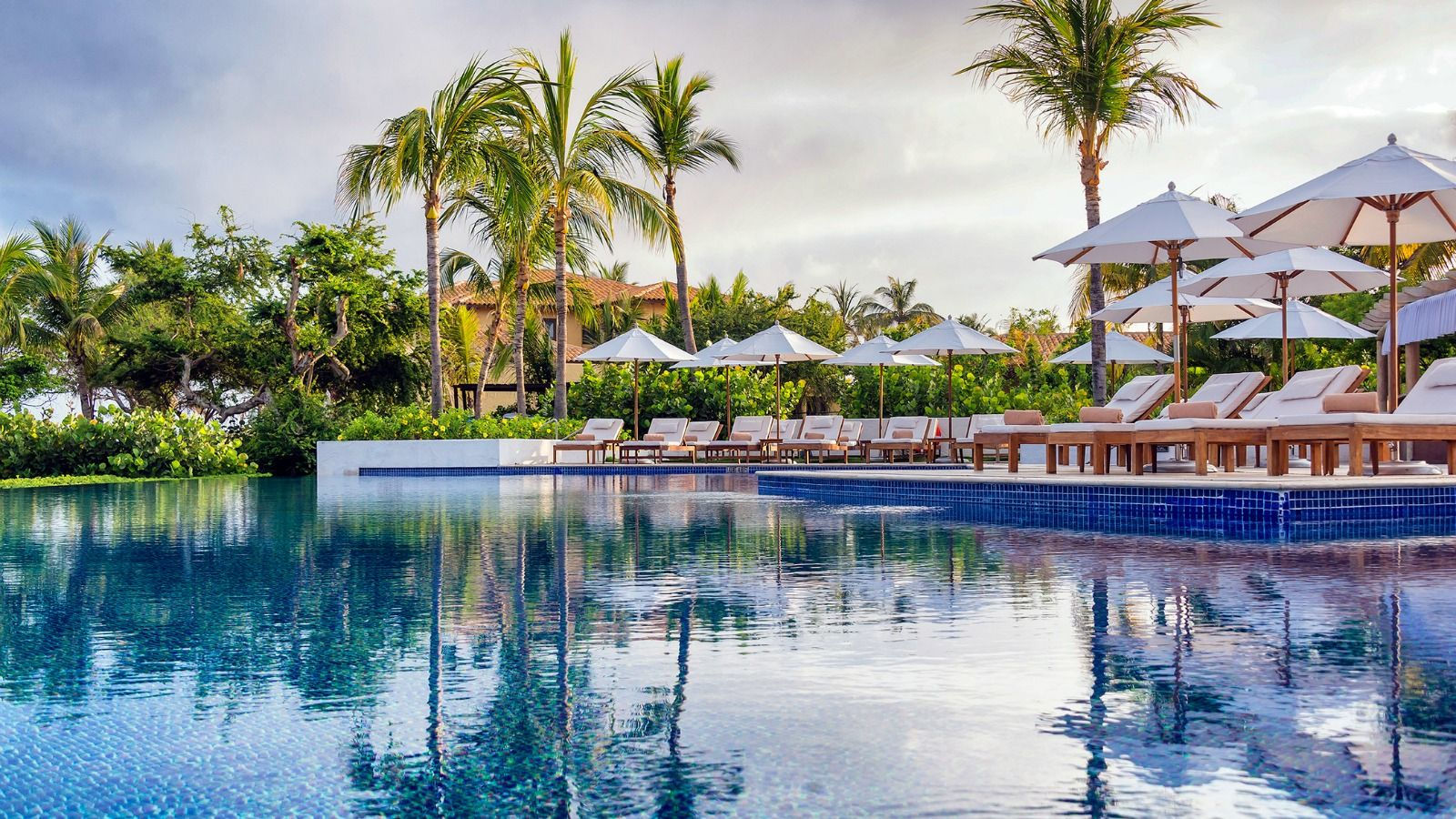 Sea Breeze Beach Club Pool - St Regis Punta Mita