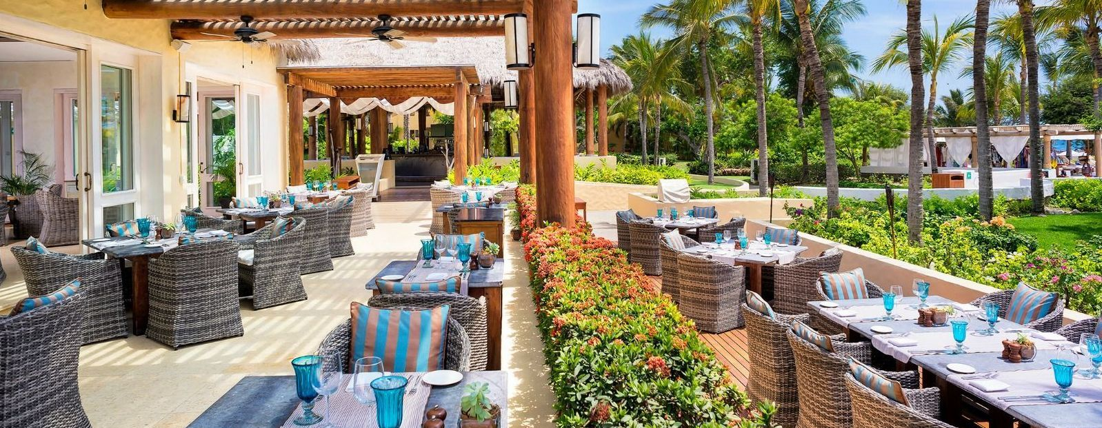 St. Regis Punta Mita Resort - Sea Breeze Restaurant Terrace